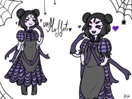 UF!Muffet design by Kaitogirl