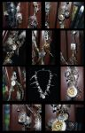 Labyrinth Necklace Details by BelovedUnderwing