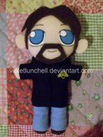 Deadliest Catch Phil Plushie by VioletLunchell