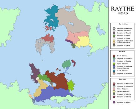 V2 Raythe: 1620AD by manomow