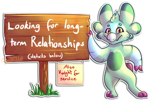 Looking for Relationships! - CLOSED by CherryTrabbit