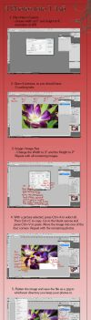 4 Photos Into 1 4x6 Tutorial by A-Fire-Within
