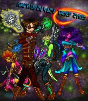 Galactic Kids Next Door by Synaptic-Firefly