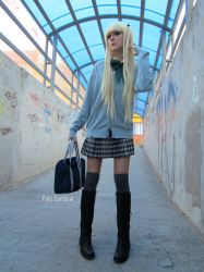 Misa: Too cool for School by palecardinal