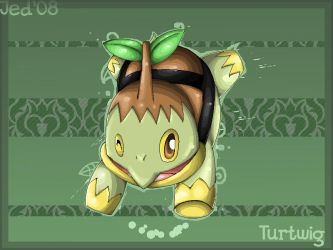 Turtwig by Jedii