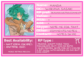 HSV Roleplaying Contact Card by mandarain-a
