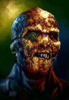 13 Nights 2010 Fulci Zombie by Grimbro