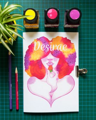 Desirae artbook for sale! by EverbloomingForest