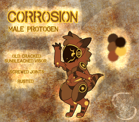Corrosion the Protogen by lectraplayer