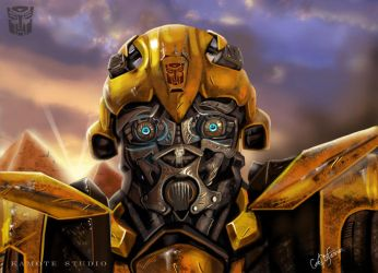 Bumble Bee by holyghost13th