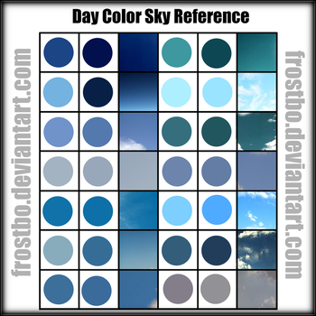 Day sky Color reference by FrostBo