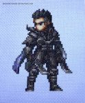 Nyx FFBE Cross Stitch by ShiroiKoumori