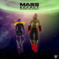 Mass Effect: Resurrection Rannoch Cover -UPDATE- by TidyWire