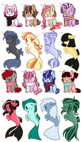 Adoptables 2 :OPEN: by gigason