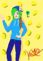 Jacksepticeye Gender bent by KatmoAdventuers