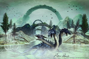 Lock Ness Monster by Renata-s-art