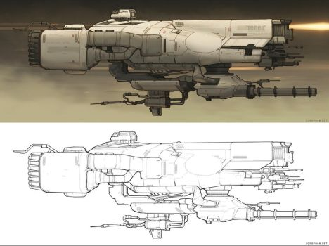 Custom shapes ship by Long-Pham