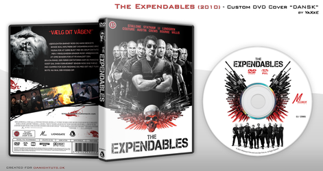 The Expendables DVD Cover by yaxxe