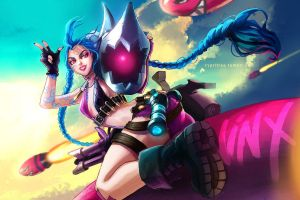 Jinx by cypritree