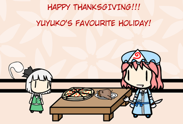 Yuyuko's Favourite Holiday by WarFalcon