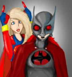 Supergirl is a dork. by DanMizelle