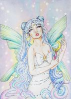 Queen Serenity by misslepard