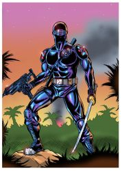 SNAKE EYES by paintmarvels