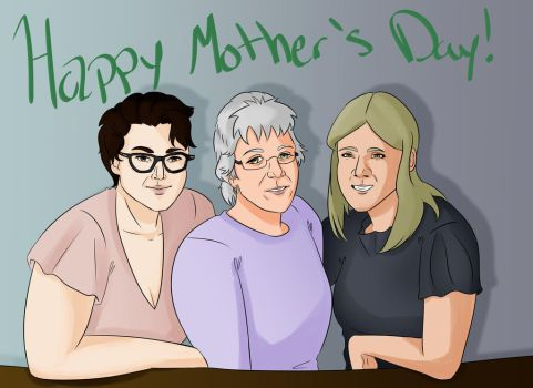 Finished Mother's Day Gift by Kydee