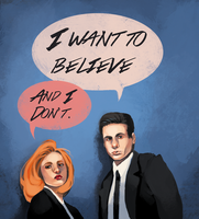 The X-files by Vannelee