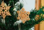 Wooden handmade snowflake by matcheslv