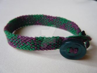 Green and Purple Gingham by rubberbend