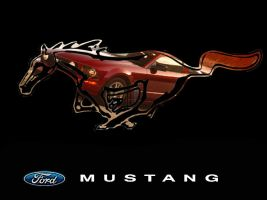 Mustang GT inside logo by ChickenChasser
