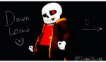 MMD Underfell Sans 2.0 Model NEW +DL by SuperBecky