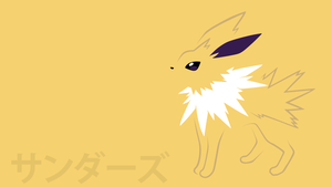 Jolteon by DannyMyBrother