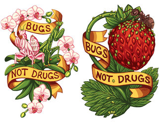 Commission: Bugs Not Drugs by Sobii