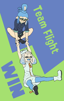 Team Flight WIN by NatahanStudios