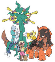 pokemon sun team