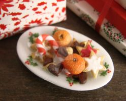 Christmas Plate of Sweets by PetitPlat