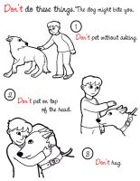 Dog Safety - Don't by MauserGirl