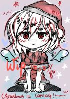 WIP~~ OC Ilish ~~ Christmas!!~ (-3-)// by Hitomi-chy