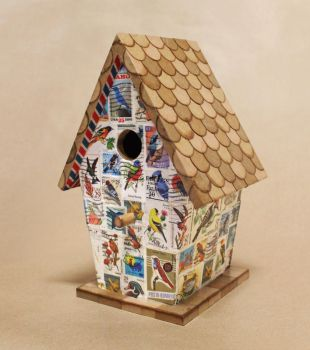 Airmail: Birdhouse No. 1 by Madelei