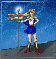 Medieval Sailor Moon by Kittensoft