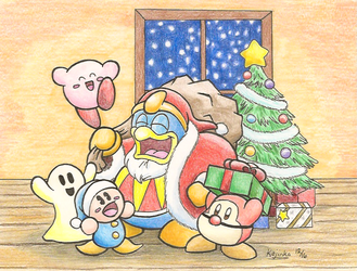 Christmas in Dreamland by KojinkaLuigiGodzilla