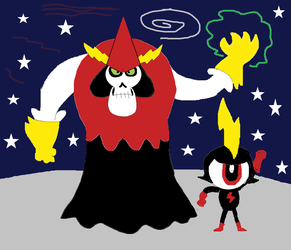 Lord Hater and Commander Peppers by Gabo2334