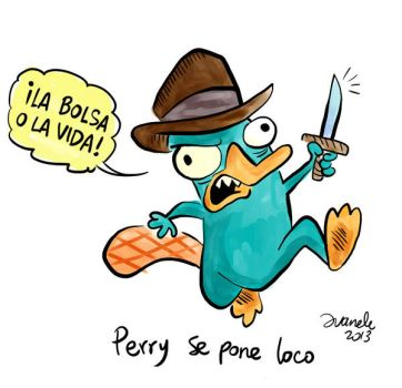 Perry goes crazy by Juanele