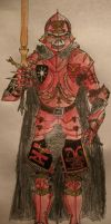 Chaos Warrior of Khorne by CannicusPalentine