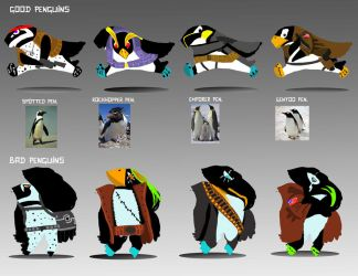 millitary penguins by yawn-l33