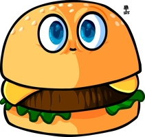 It's Burgie! by Wazzaldorp