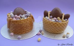 Easter Cake Double by ginas-cakes