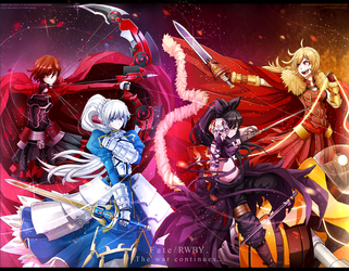 Fate x RWBY : The completed edition by dishwasher1910